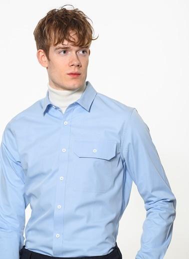 Calvin Klein Gömlek Mavi